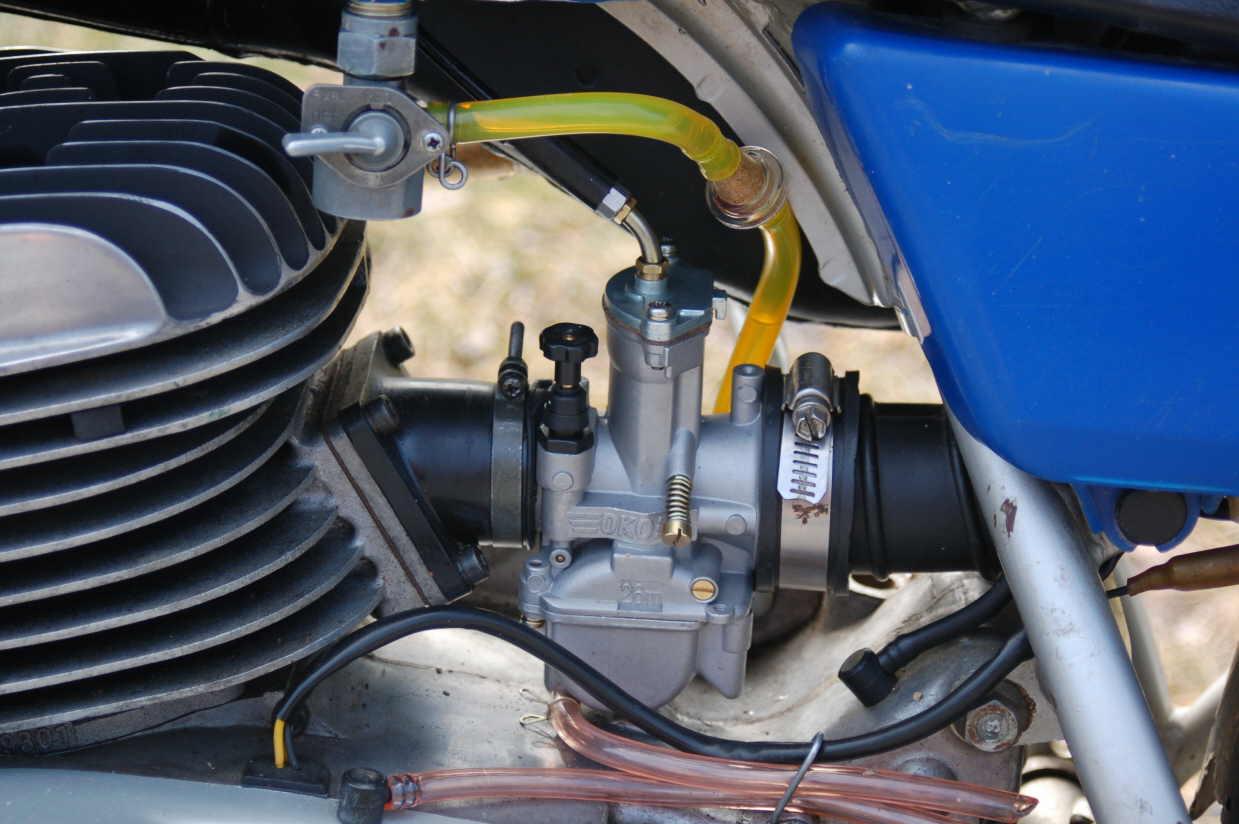 Yamaha Ty  Exhaust
